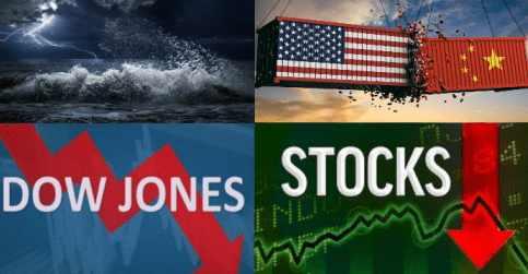 Падение рынков перед войной уже не останавливается