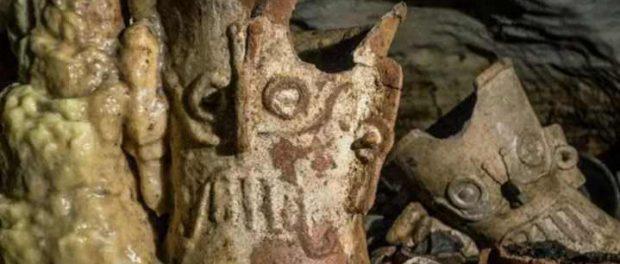 «Ритуальная пещера» майя найдена полной драгоценных реликвий