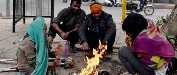 В Индии началось  глобальное похолодание