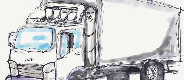 Предлагаемая система улавливания CO2 может снизить выбросы грузовиков на 90%