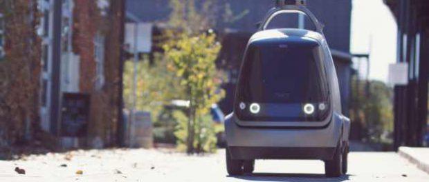 Калифорния разрешает «легкие» транспортные средства доставки