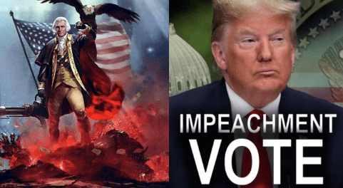 В США начинается революция из-за импичмента Трампа