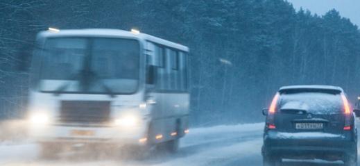 Пассажиры автобуса трассы Пермь-Екатеринбург были не пристегнуты