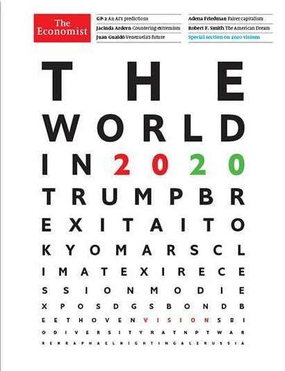 The Economist: мир в 2020-м году