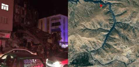 На Востоке Турции произошло жуткое землетрясение