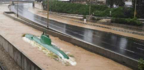 Конец времен: масштабное наводнение в Израиле