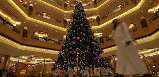 Самая дорогая новогодняя елка за 11 миллионов