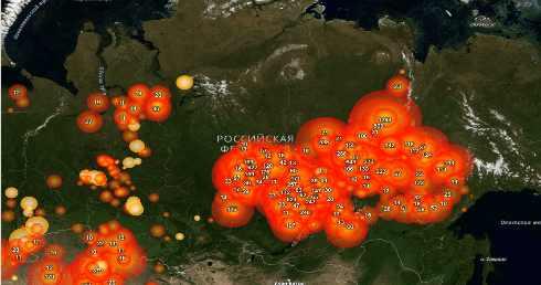 Весной Россия полностью выгорит