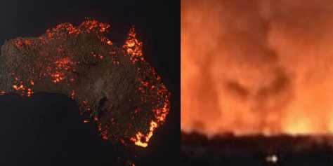В пожарах Австралии виноваты демоны