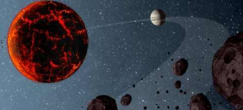 Астероиды к Земле толкает Нибиру
