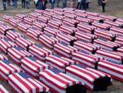 гробы с американскими солдатами