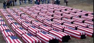 Гробы с американскими солдатами вылетели из Ирака