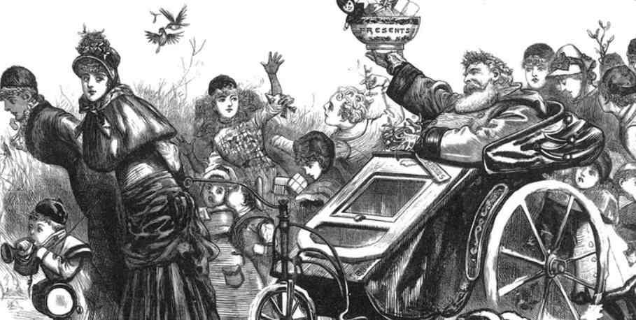 дед мороз 1879 год