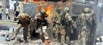 Над Ираком летают B-52