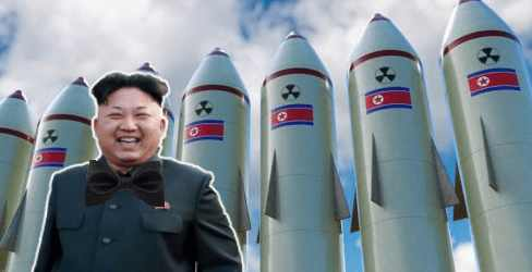 Ким Чен Ына снова выпустили повоевать с  миром