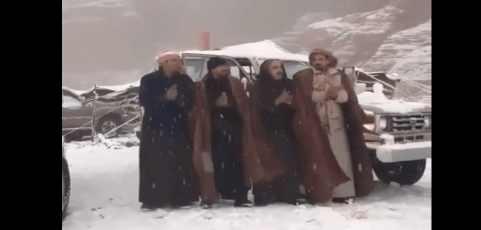 Климат рушится: небывалый снег в Саудовской Аравии
