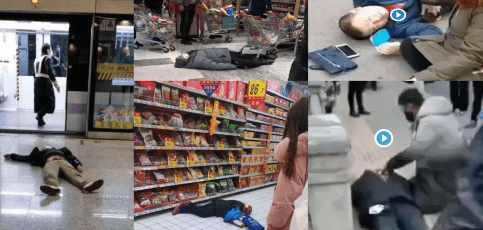 Жители Уханя прорвали информационную блокаду