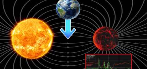 Магнитные полюса меняются не только на Земле