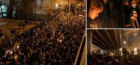 В Тегеране новая революция по свержению  верховного лидера