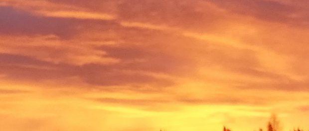 Небо Австралии превратилось Апокалипсис