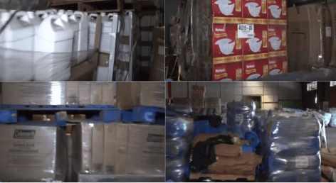 В Пуэрто-Рико обнаружилось сеть складов FEMA