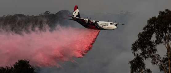 Конец Австралии: два пожара объединились в один