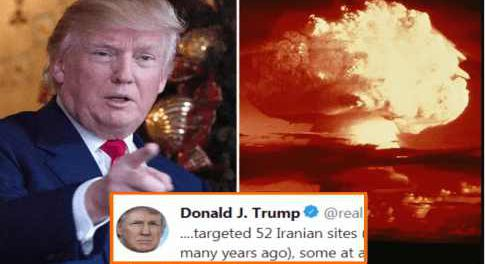 Трамп обещает сжечь Иран ядерными ударами