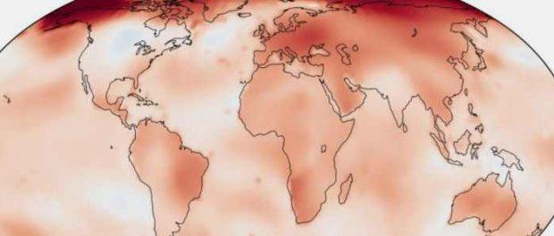 2019 год стал вторым жарким годом за всю историю