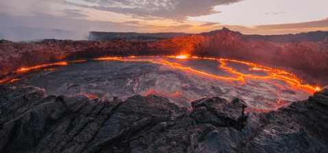 В Африке назревает взрыв супервулкана