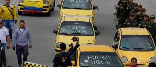 Uber покидает Колумбию после решения суда