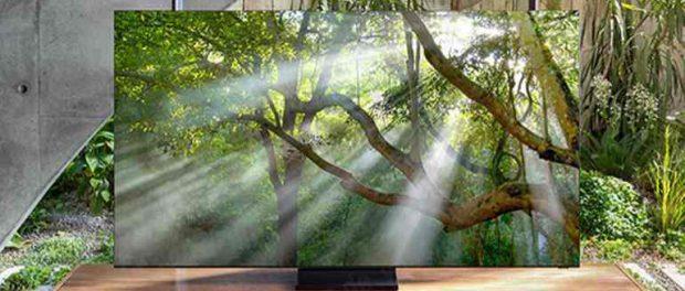 Это может быть предстоящий 8K телевизор с нулевой рамкой от Samsung