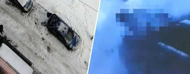 13-летняя девочка упала с многоэтажки