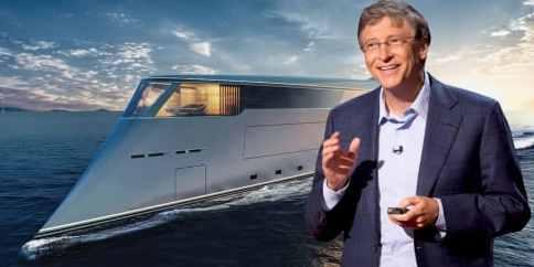 Билл Гейтс срочно покупает яхту, чтобы спастись от эпидемии