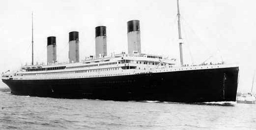 Новый Титаник пойдет тем же маршрутом как 106 лет назад