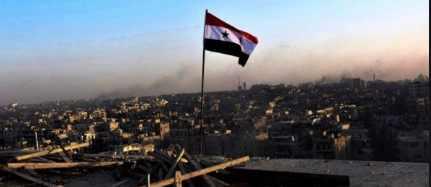 В небе Сирии кто-то тестирует супер оружие
