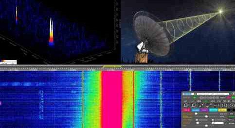 По всей Земле на коротких волнах слышен внешний сигнал