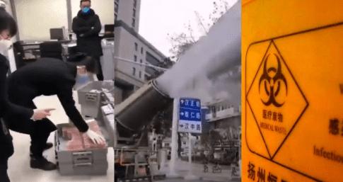Кононавирус: ролики из Китая все страшнее