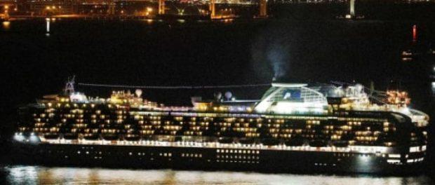10 человек заразились на круизном корабле в Японии