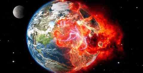 К Земле мчится метеорит на сверхзвуковой скорости