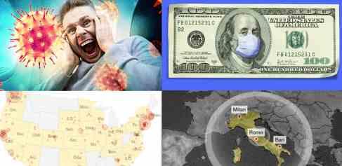 COVID-19: эпидемия косит Италию и США