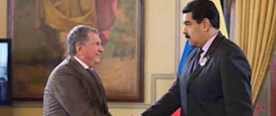 «Роснефть» прекратила деятельность в Венесуэле