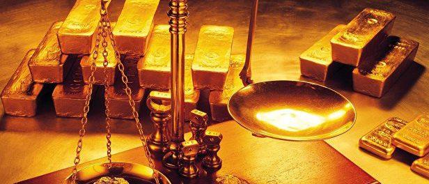 Цены на золото падают как и все остальное