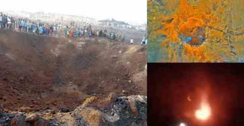 Взрыв в Нигерии: метеорит или взрывчатка