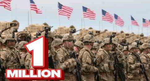 Пентагон призывает 1 миллион резервистов