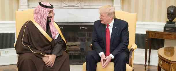 США пытаются заключить нефтяной альянс с саудитами