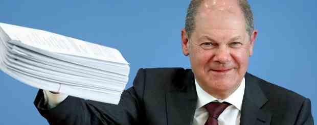 Германия договорилась о предоставлении помощи на сумму 750 млрд евро