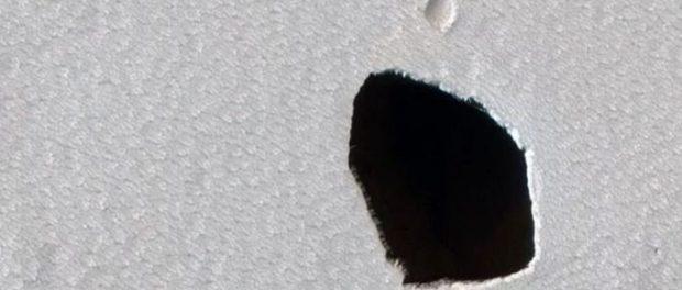 Что внутри обнаруженного на Марсе туннеля