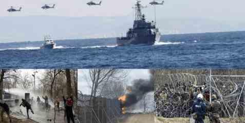 Греция отправляет в море весь флот против Турции