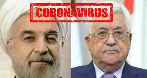 Президенты Ирана и Палестины заразились коронавирусом