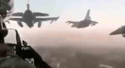 Турки сбили сразу три сирийских самолета в Идлибе